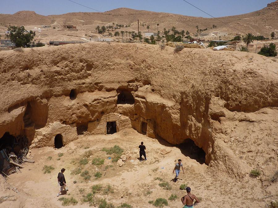 Au milieu des contrées arides, un puits de fraîcheur.